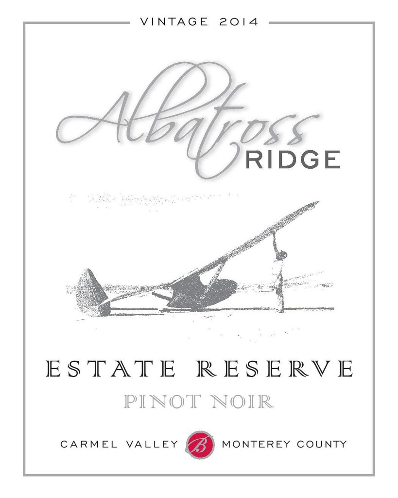 2014 Albatross Ridge Estate Reserve Pinot Noir