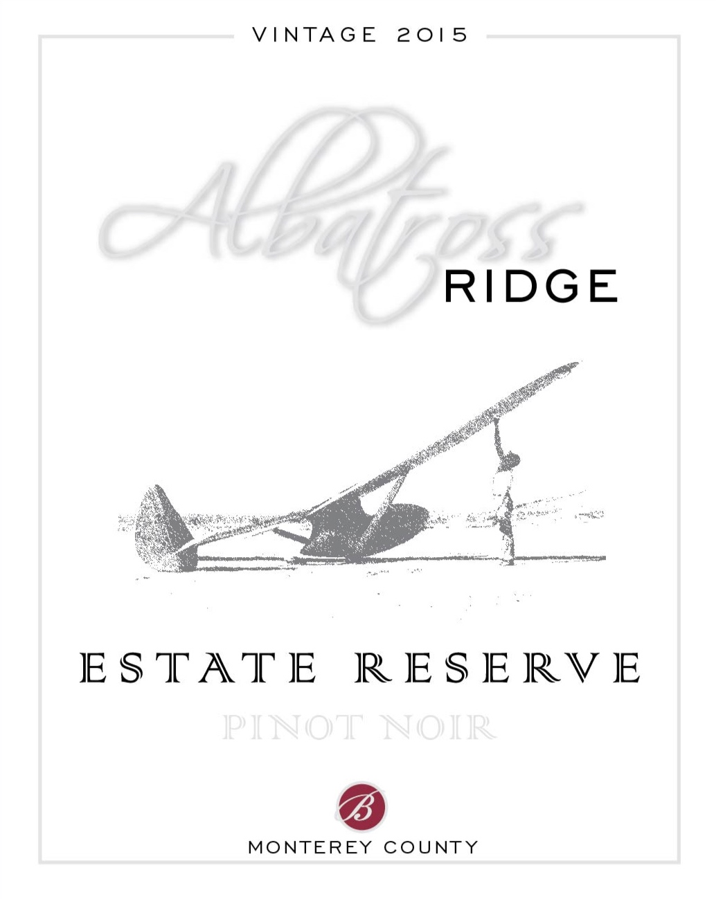 2015 Albatross Ridge Estate Reserve Pinot Noir